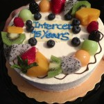 Romanian-English Intercer Ministry celebrates 15 Years of Activity with a Fruit Cake!
