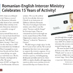 "Intercer article in ""Canadian Adventist Messenger"", May 2013"
