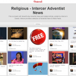 The largest collection of Adventist news & media items on Pinterest
