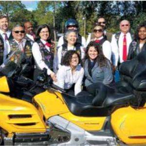 Bikers in Florida Accept Evangelism Challenge