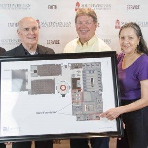 Southwestern Adventist University Receives Major Gift From Marti Foundation
